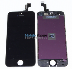 Apple iPhone 5S LCD + Digitiser Black - High Quality